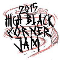 High Black Corner Jam